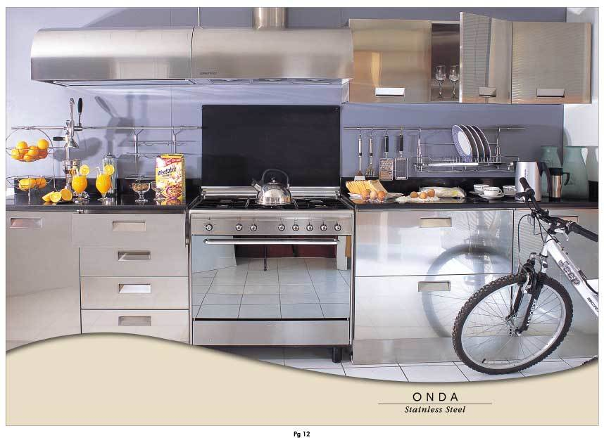 Stainless Steel Kitchen Shafic Dagher Dubai Uae