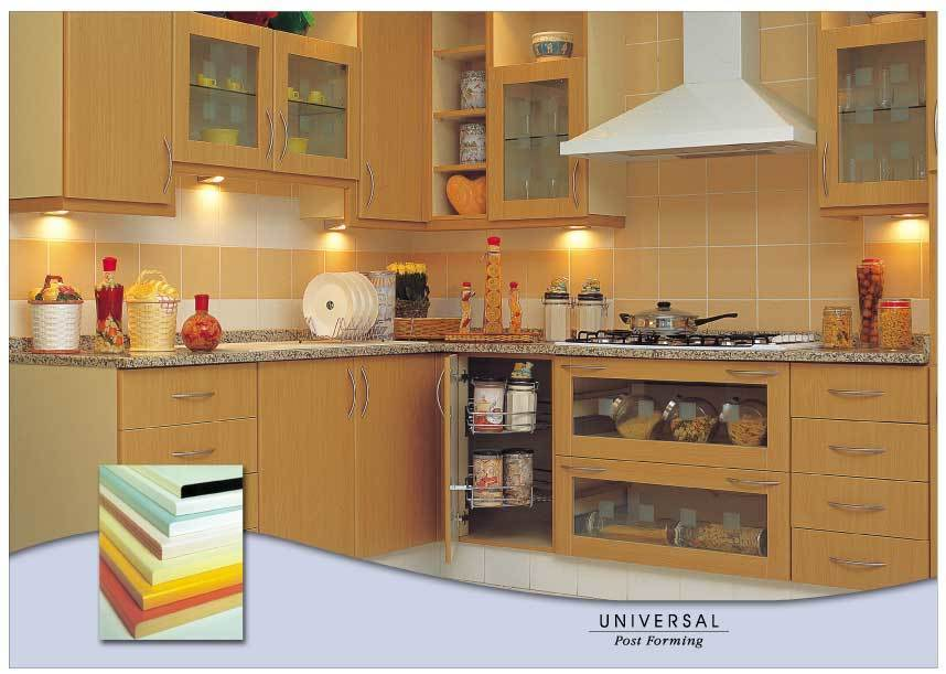 MDF and Postform Kitchens