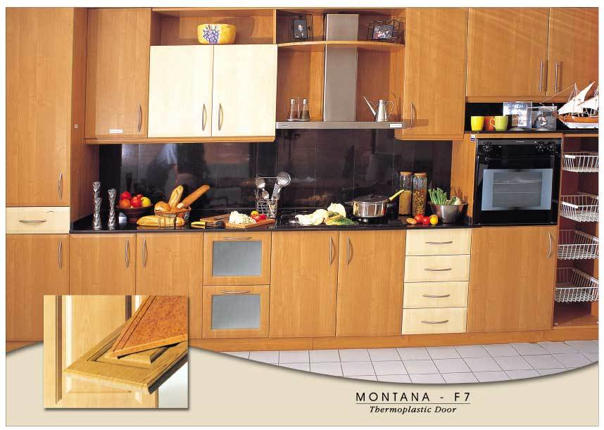 Thermofoil Kitchen Cabinets Shafic Dagher In Dubai