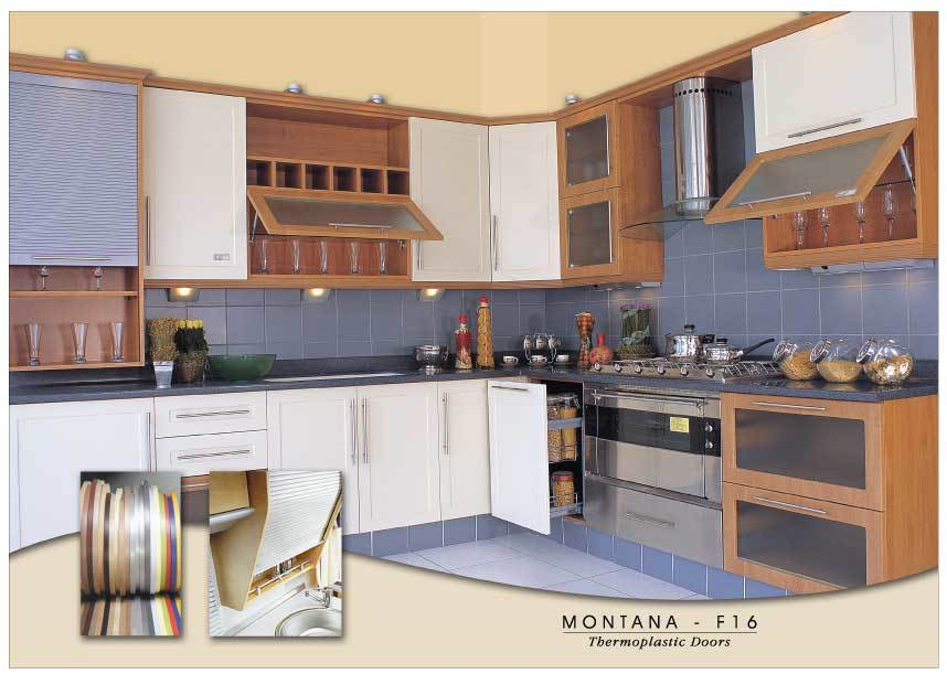 MDF Thermoplastic Kitchens