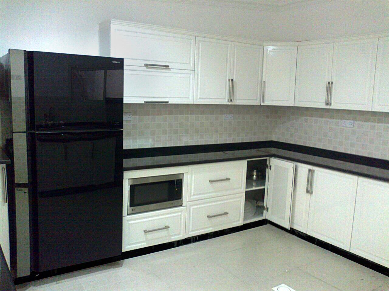 Aluminium kitchen Ral finish type: Alutech